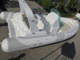 bateau de côte de luxe de 6.8m, bateau de sauvetage militaire, bateau à grande vitesse, bateau de pêche gonflable avec le CERT de la CE