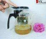 шикарный стеклянный чайник 600ml/стеклянный чайник стекла искусствоа создателя/давления чая