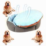 Casa enchida macia do animal de estimação do luxuoso da qualidade da opção do brinquedo da base do cão