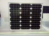 panneau solaire de module solaire monocristallin approuvé de la CE de 30W TUV