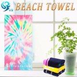 ファブリックプリントロゴのビーチタオル