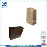 Bolsa de papel modificada para requisitos particulares del negro de la muestra libre
