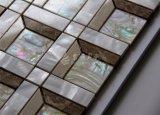 Shell de agua dulce del río y mosaico de mármol de Newproduct