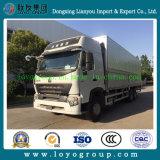 판매를 위한 HOWO A7 6X4 알루미늄 합금 밴 Truck