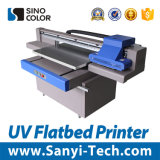 Impresora plana ULTRAVIOLETA tamaño pequeño para el vidrio