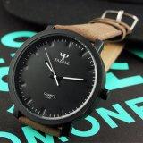 Überwacht lederne Armbanduhr des Quarz-Z320, neue Form-Art-Fabrik Männer