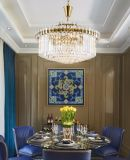 Decoração tradicional Chandelider de cristal da sala de jantar moderna (GD18173P-D800)