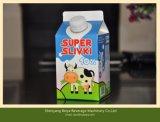 Машина завалки коробки молока молокозавода