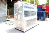 Puerta de cristal de aluminio de desplazamiento doble del patio