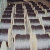 Steel galvanisé Wire Rope 6X19+Iwrc