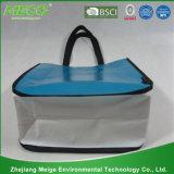 カスタム安いショッピング食料雑貨はリサイクルするPPの非編まれた袋(MECO185)を