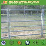 Panneau de clôture à béton galvanisé, panneau de clôture de béton à tube de métal