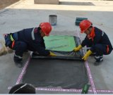 membrana impermeável autoadesiva da película de /HDPE /EVA do PE da espessura de 3.0mm para o telhado /Garage /Basement /Underground /Underlay (ISO)