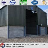 Edifício de aço claro pré-fabricado para o armazém