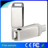 인조 인간 Smartphone를 위한 자유로운 주문 로고 OTG USB 섬광 드라이브