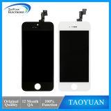 Оптово для черноты объектива экрана iPhone 5s стеклянной, дешевого LCD для iPhone 5s