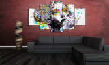 HD afgedrukt Psychedelisch het Schilderen van de Vrouw Canvas mc-149 van het Beeld van de Affiche van het Af:drukken van het Decor van de Zaal van het Af:drukken van het Canvas
