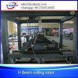 Робот вырезывания польностью автоматического луча h справляясь для отрезанных отверстий и вала передней части