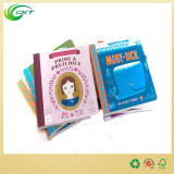 Libros infantiles de encargo del Hardcover de la impresión en color de Cmyk o de Pantone con atar de costura (CKT-BK-006)