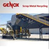 고용량 금속 조각 리사이클링 시스템 또는 재생 기계