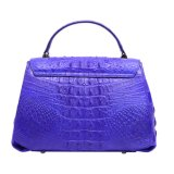 Oberseite-Griff-Schultertote-Beutel der Dame-Handbag Genuine Crocodile Leather
