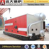 Chaudière à eau chaude allumée de charbon industriel