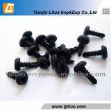 Negro aplicado capa de fosfato muy bien/tornillos gruesos de la mampostería seca de la cuerda de rosca (#6-#10)