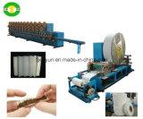 Papel de tejido Full-Automatic del cigarrillo que fuma que raja la máquina plegable