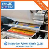 Offset UV Impresión PVC Hoja de PVC transparente para caja plegable