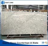 De opgepoetste Steen van het Kwarts voor het Stevige Bouwmateriaal van de Oppervlakte Met SGS Certificiate (Marmeren kleuren)
