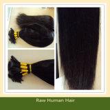 Straight bulto del pelo brasileño de la Virgen de Remy del pelo humano (B-24)