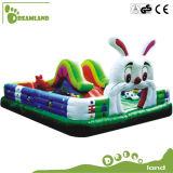 O campo de jogos caçoa o castelo Bouncy inflável da alta qualidade popular do equipamento do brinquedo