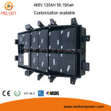 BMS/PCBの電気自動車のための深いサイクルLiFePO4 144V 200ah李イオン電池のパック48V 100ah 80ah電池