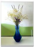 Fait dans le vase acrylique à étalage de fleur de la Chine