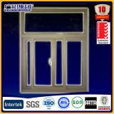 Het horizontale Openings Glijdende Venster van de Legering van het Aluminium van het Frame van de Legering van het Patroon en van het Aluminium Materiële