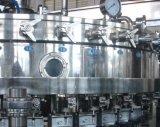 洗浄、パルプの詰物、炭酸塩化された詰物、一体鋳造または機械飲料機械41でキャップする