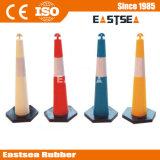 Polietileno de Plástico Colorido Estrada Delineator Cone