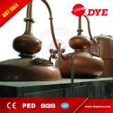 du bac toujours 2500L matériel chauffé à la vapeur d'élément de distillation pour l'eau-de-vie fine
