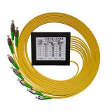 1X8 PLC Splitter van Pon ABS Box Fiber Optical met St/Sc/FC/LC Connector