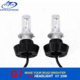 자동 Headlamp를 위한 LED 램프 전구 G7 25W 4000lm Philips H7 LED 차 헤드라이트