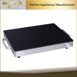 Cassetto di riscaldamento di riscaldamento dell'alimento del piatto Es-5005 250W dell'alimento Tempered di vetro
