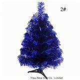 Pequeño color del árbol 7 de las decoraciones de la Navidad del PVC