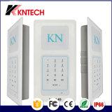 Telefone embutido mãos-livres dedicado Knzd-63 Cleanroom Telefone Sistema de intercomunicação de áudio multi-zona