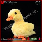 Realistische angefülltes Tier-Plüsch-Gelb-Ente-weiches Spielzeug für Baby-Kinder