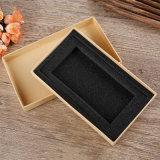 El rectángulo de papel de empaquetado rígido de papel para empaquetar con crea para requisitos particulares