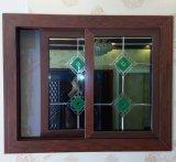 Ventana corredera de PVC / UPVC de madera de alta calidad (BHP-SW15)