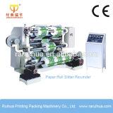Machine en plastique de rebobinage de découpage de bobine de film de polyester
