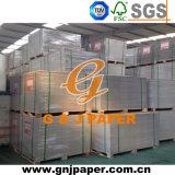 überzogenes Duplexvorstand-Papier der Seiten-250g eins mit Grau-Rückseite
