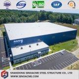 Edifício/oficina/armazém pré-fabricados Certificated europeus da longa vida