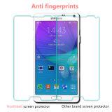 Protetor móvel da tela de toque da transparência inteira para a nota 4 de Samsung